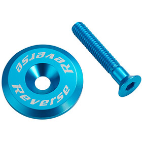Reverse Headset cap light blue
